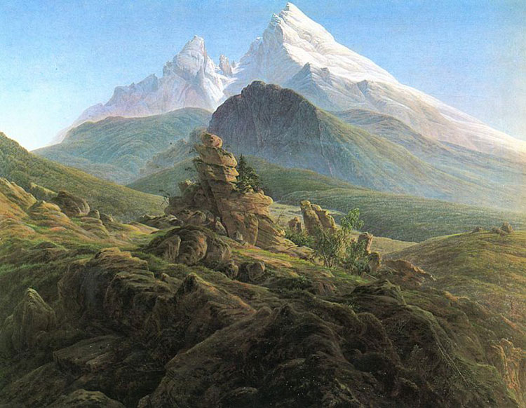 Caspar David Friedrich, 'The Watzmann' - The Culturium