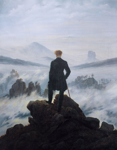 Caspar David Friedrich, 'Wanderer Above the Sea of Fog' - The Culturium