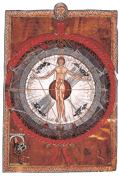 Hildegard of Bingen, 'Liber Divinorum Operum: Universal Man' - The Culturium