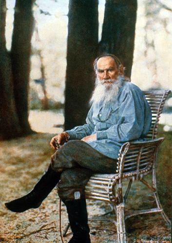 Sergey Prokudin-Gorsky, 'Leo Tolstoy' - The Culturium