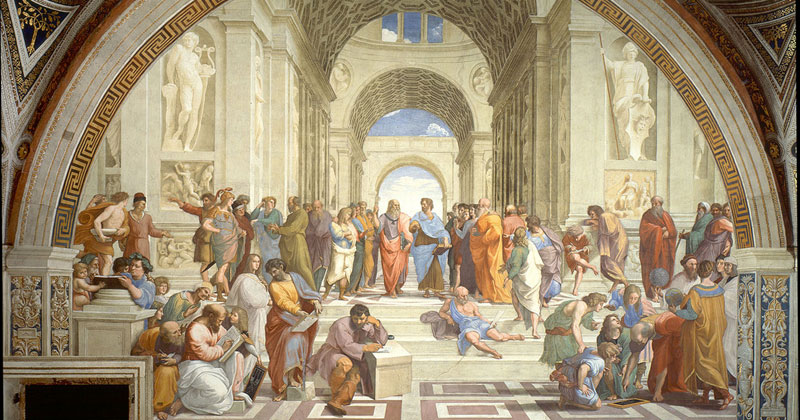 Raphael, 'The School of Athens' - The Culturium