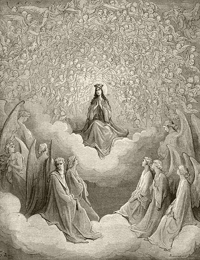 Gustave Doré, Madonna, Dante's Paradiso - The Culturium