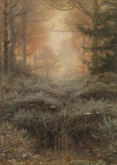 John Everett Millais, Dew Drenched Furze - The Culturium