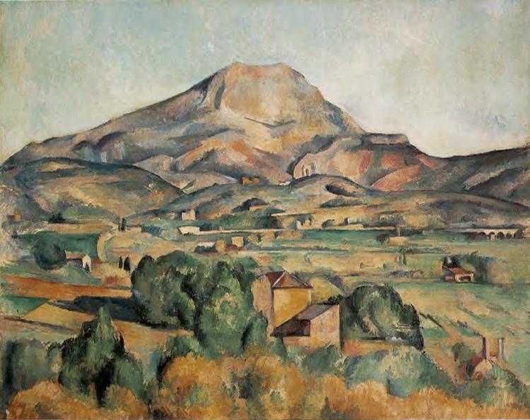 Paul Cézanne, La Montagne Sainte-Victoire - The Culturium