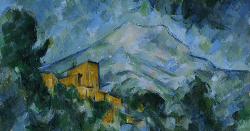 Paul Cézanne: La Montagne Sainte-Victoire