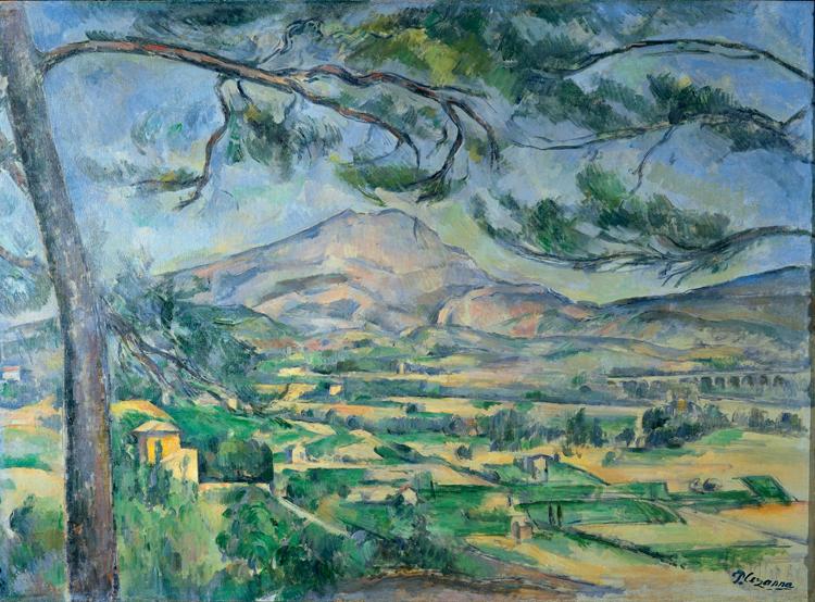Paul Cézanne, Montagne Sainte-Victoire - The Culturium