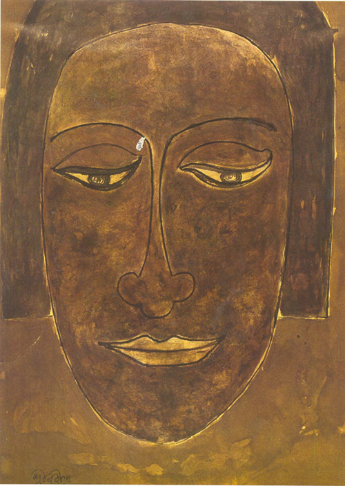 Rabindranath Tagore, Study in Face - The Culturium