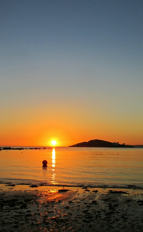 Roy Whenary, Burgh Island, Sunset - The Culturium