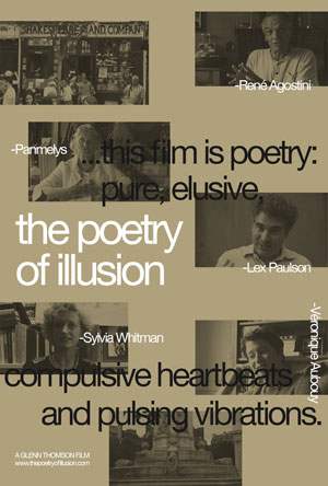 Glenn Thomson, The Poetry Of Illusion - The Culturium