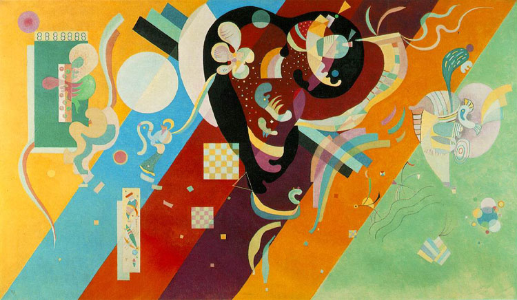 Wassily Kandinsky, Composition IX - The Culturium
