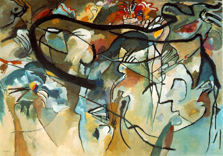 Wassily Kandinsky, Composition V - The Culturium