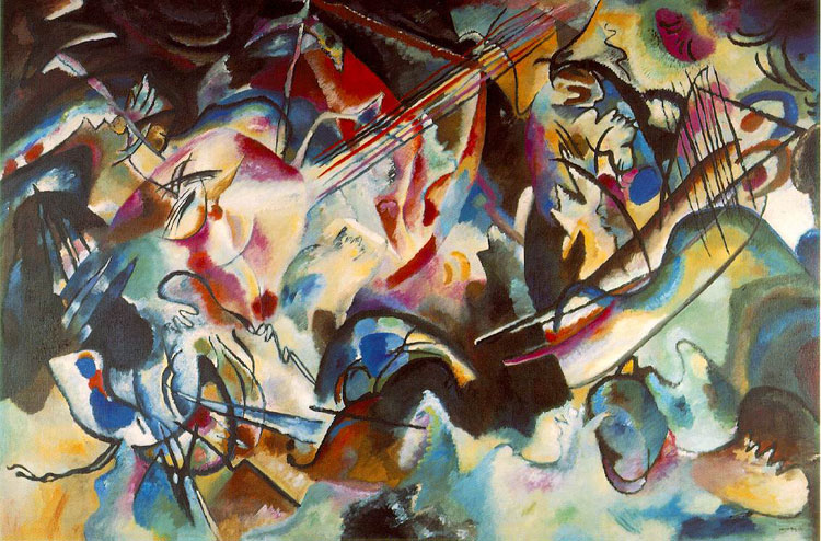 Wassily Kandinsky, Composition VI - The Culturium