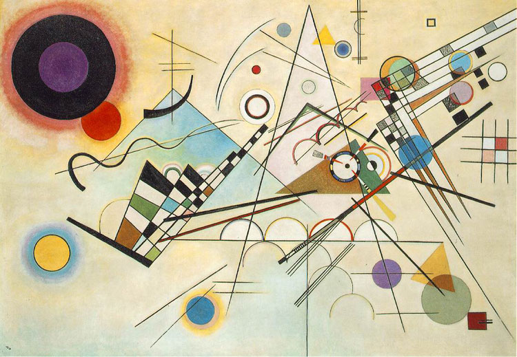 Wassily Kandinsky, Composition VIII - The Culturium