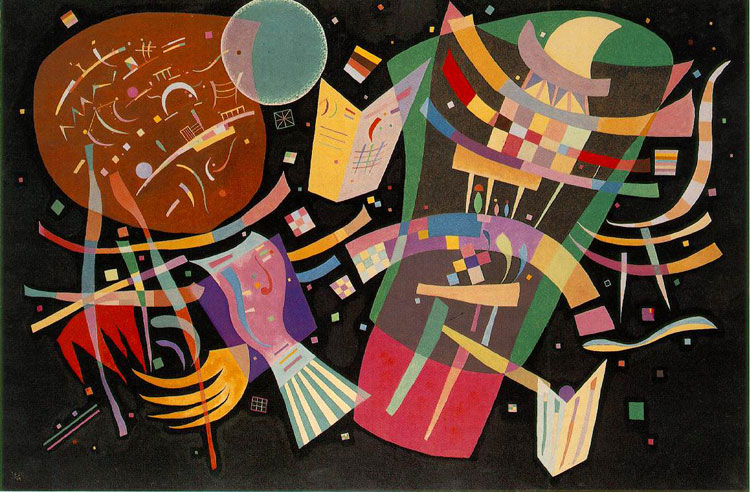 Wassily Kandinsky, Composition X - The Culturium