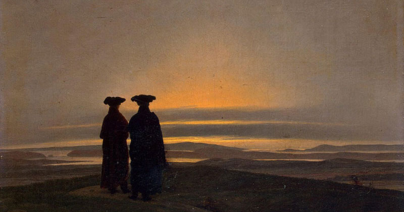 Caspar David Friedrich, Sunset - The Culturium