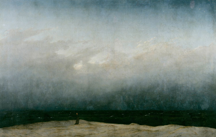 Caspar David Friedrich, The Monk by the Sea - The Culturium