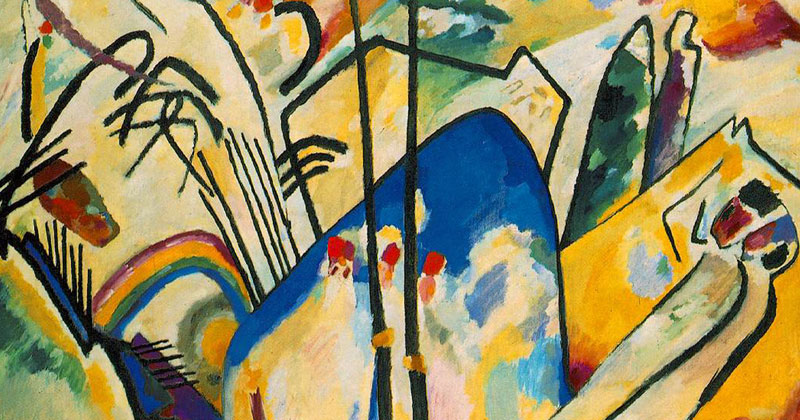 Wassily Kandinsky, Composition IV - The Culturium