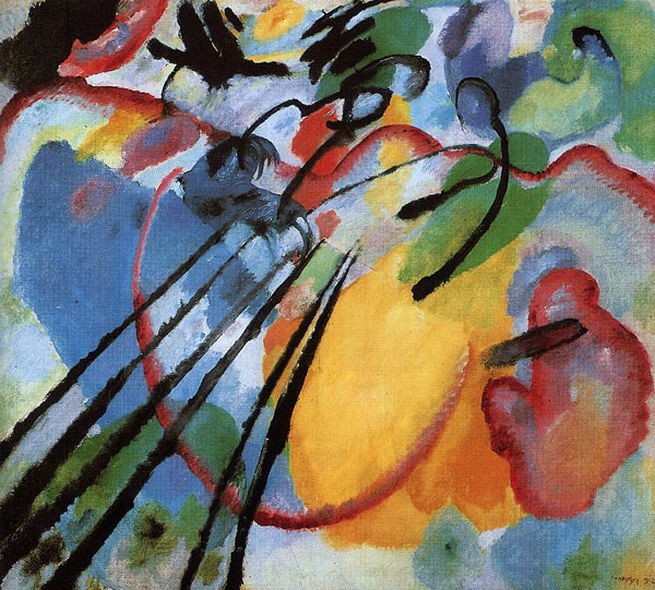 Wassily Kandinsky, Improvisation 26 - The Culturium