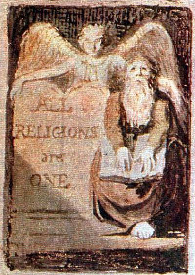 William Blake, All Religions Are One - The Culturium