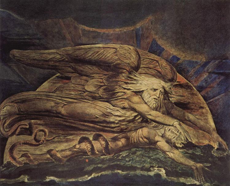 William Blake, Elohim Creating Adam - The Culturium