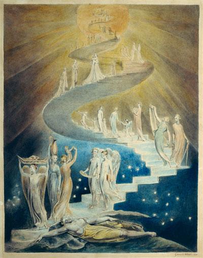 William Blake, Jacob's Ladder - The Culturium