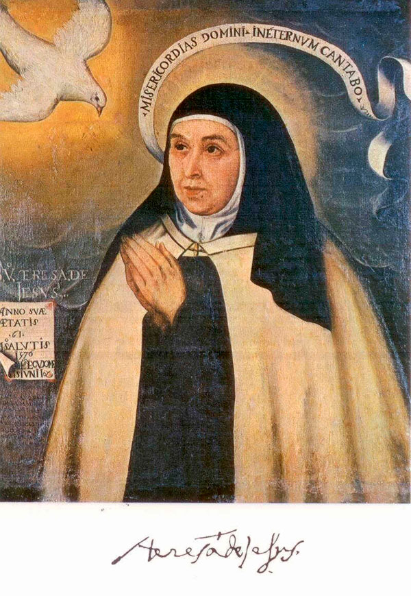 Fray Juan de la Miseria, Teresa de Jesús - The Culturium