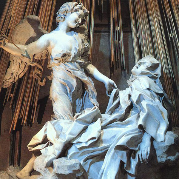 Gian Lorenzo Bernini, Ecstasy of Saint Teresa - The Culturium