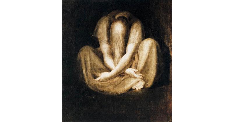 Johann Heinrich Füssli, Silence - The Culturium