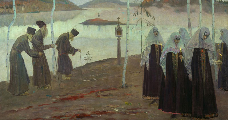 Mikhail Nesterov, Hermit Fathers And Immaculate Women - The Culturium