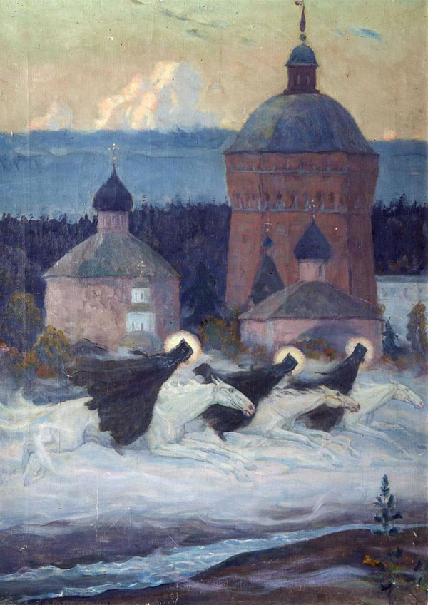 Mikhail Nesterov, Riders - The Culturium