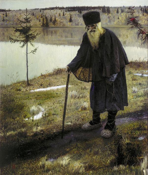 Mikhail Nesterov, The Hermit - The Culturium