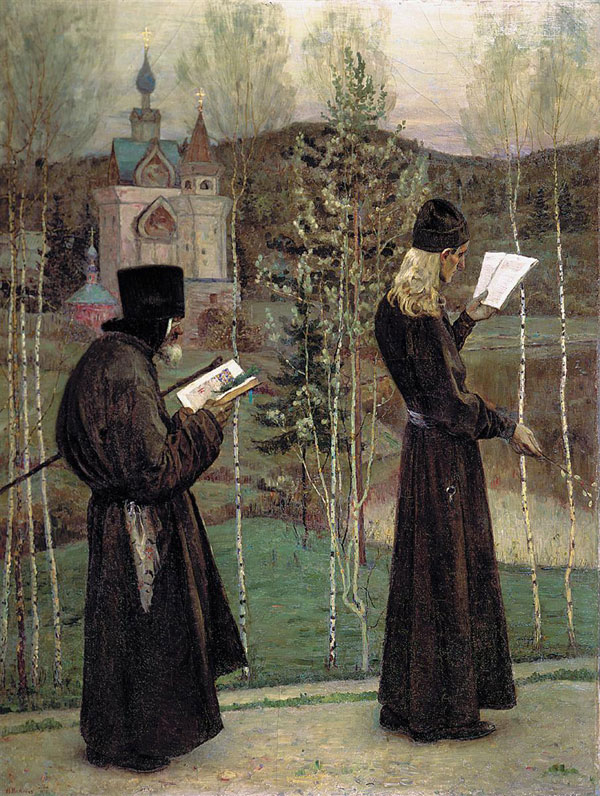 Mikhail Nesterov, To Blagovest - The Culturium