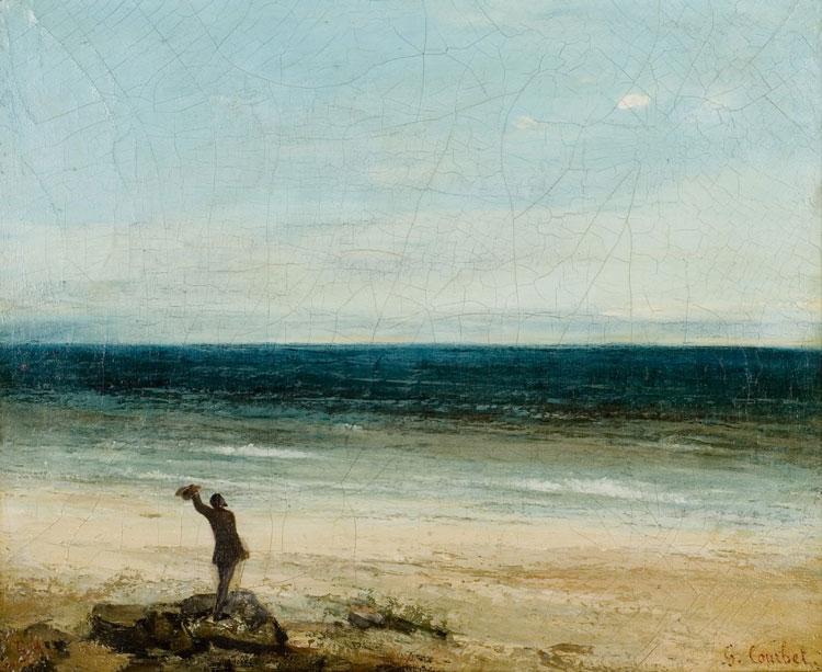Gustave Courbet, Le Bord de Mer à Palavas - The Culturium