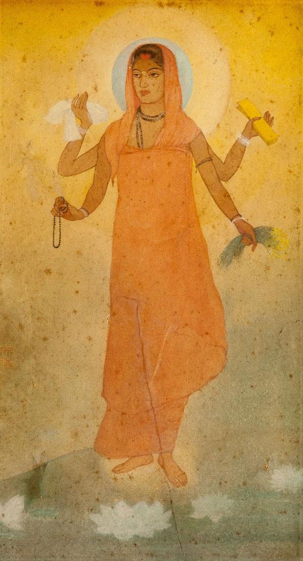 Abanindranath Tagore, Bharat Mata - The Culturium