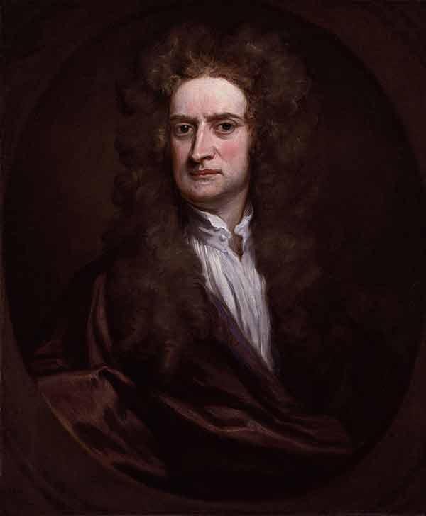 Godfrey Kneller, Isaac Newton - The Culturium