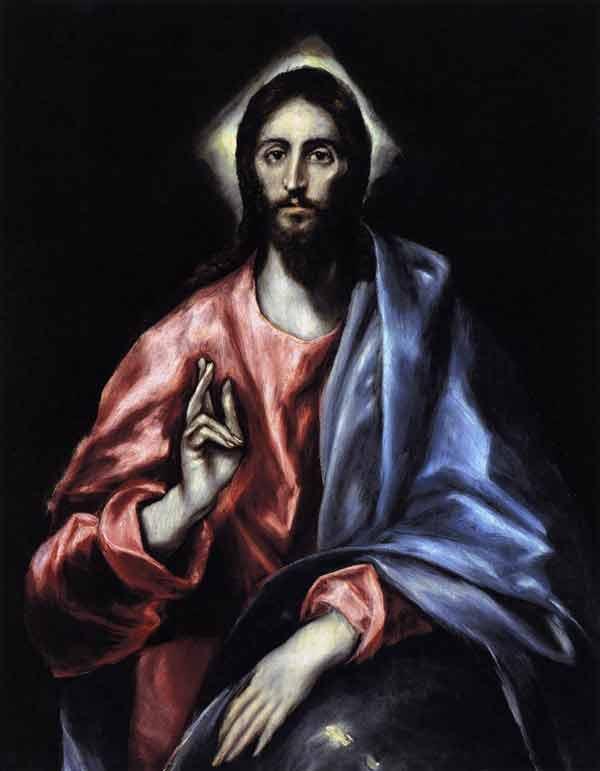 El Greco, Christ as Saviour - The Culturium
