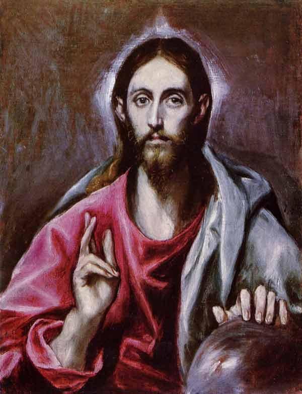 El Greco, The Saviour of the World - The Culturium