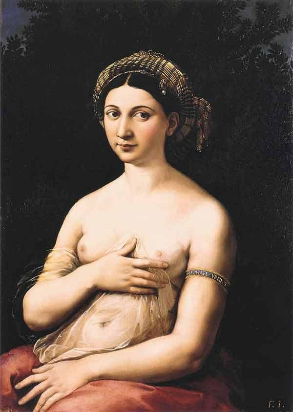 Raphael, 'Fornarina' - The Culturium