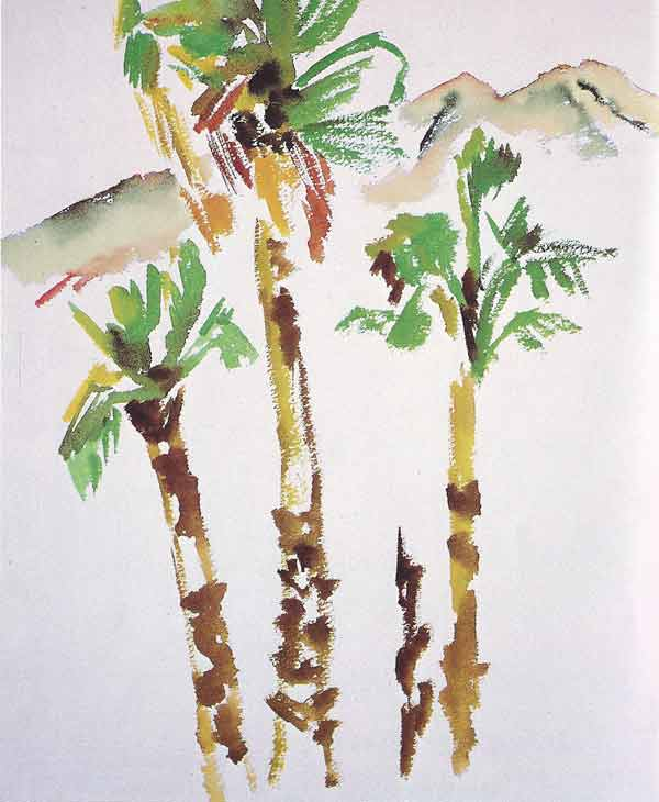 Rollo May, Three Palm Trees - The Culturium