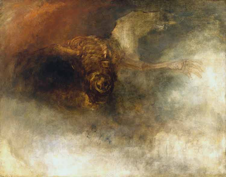 Joseph Mallord William Turner, Death on a Pale Horse - The Culturium