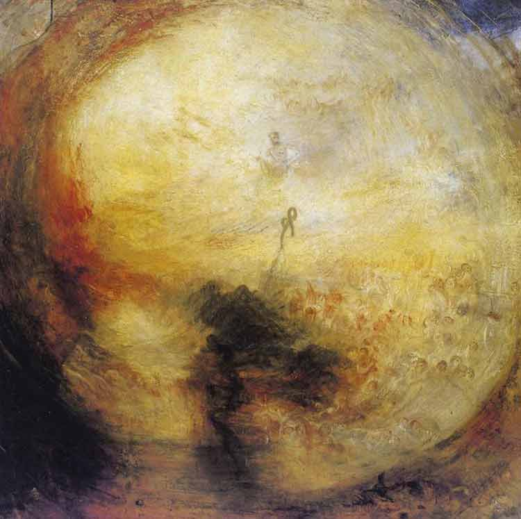 Joseph Mallord William Turner, The Morning After the Deluge - The Culturium