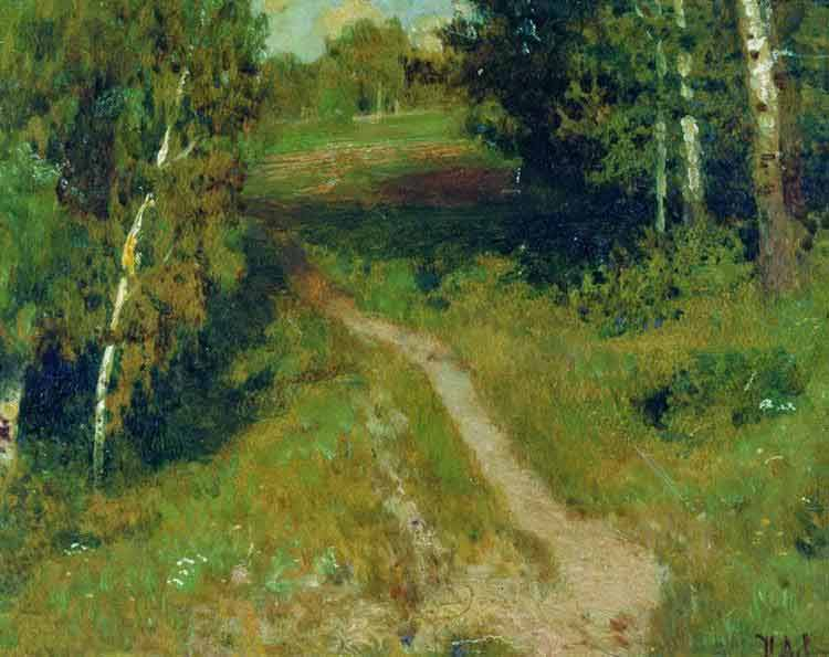 Isaac Levitan, A Birch Grove - The Culturium