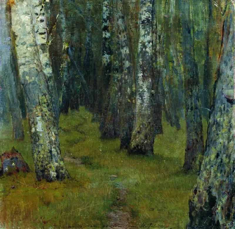 Isaac Levitan, Birches. Forest Edge - The Culturium