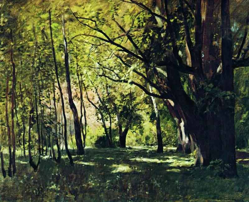 Isaac Levitan, In the Park - The Culturium