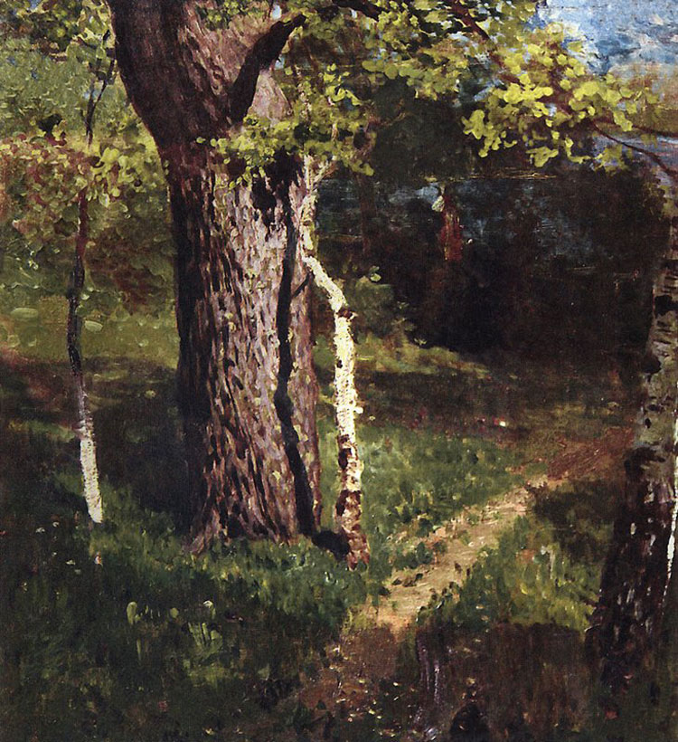 Isaac Levitan, Oak and Birch - The Culturium