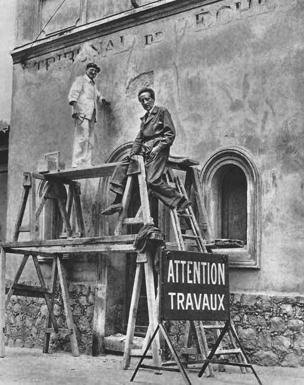 Jean Cocteau House Paint
