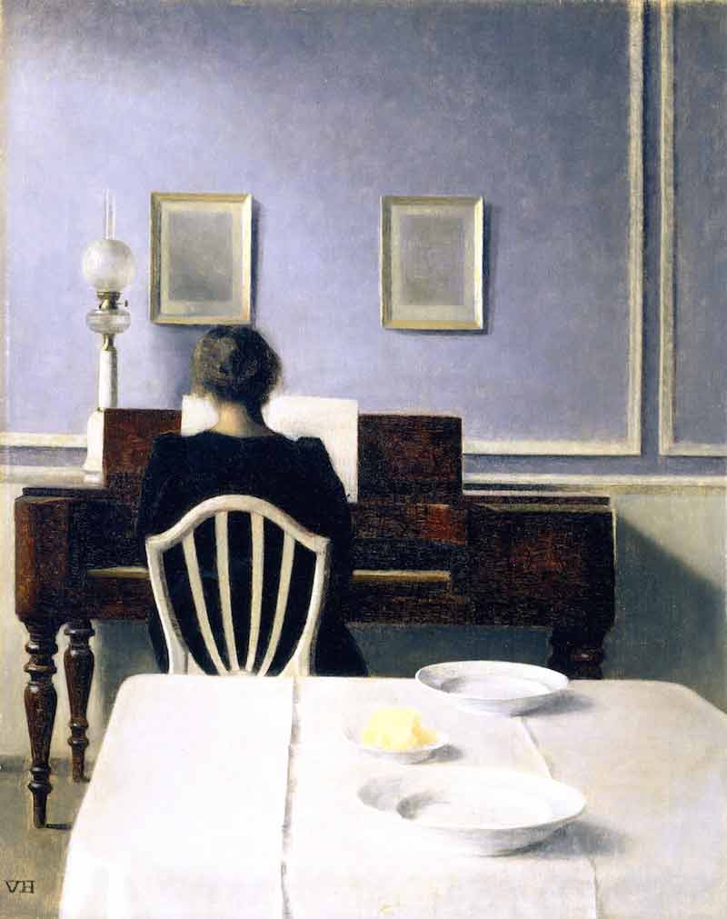 Vilhelm Hammershoi - The Culturium