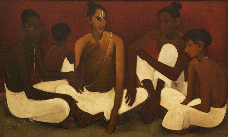Amrita Sher-Gil, Brahmacharis - The Culturium