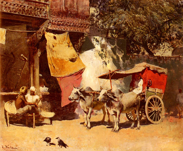 Edwin Lord Weeks, An Indian Gharry - The Culturium