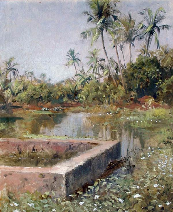 Edwin Lord Weeks, Sacred Lake Bombay - The Culturium